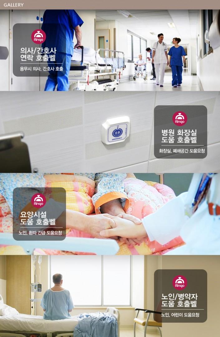 mô tả về chuông gọi y tá không dây
