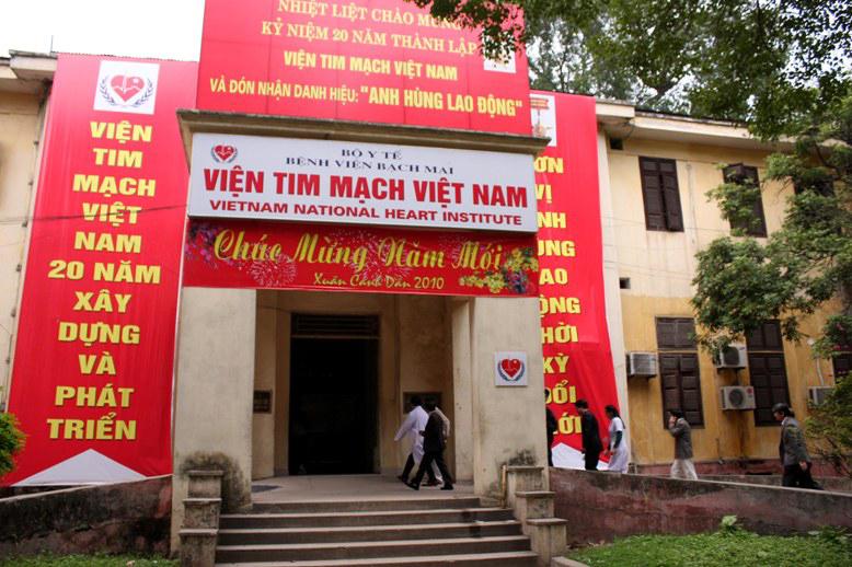Viện tim mạch-bệnh viện Bạch Mai lắp đặt chuông gọi y tá không dây WS-100