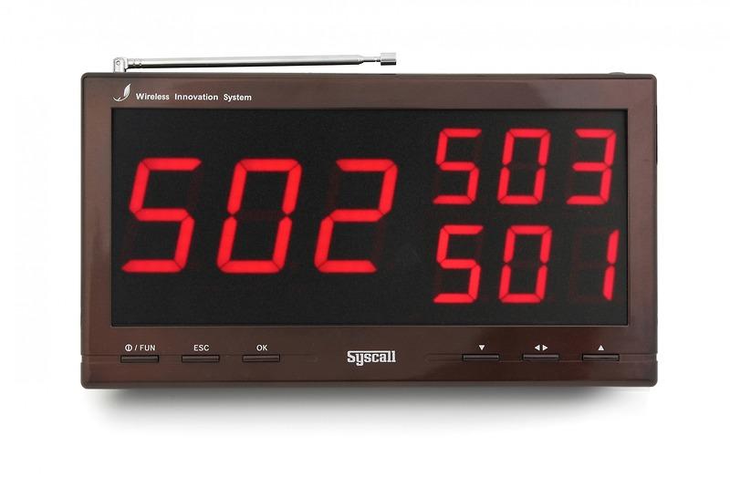 Bảng hiển thị hệ thống báo gọi y tá SR-330