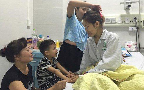 bệnh nhân liễu sau khi hồi phục