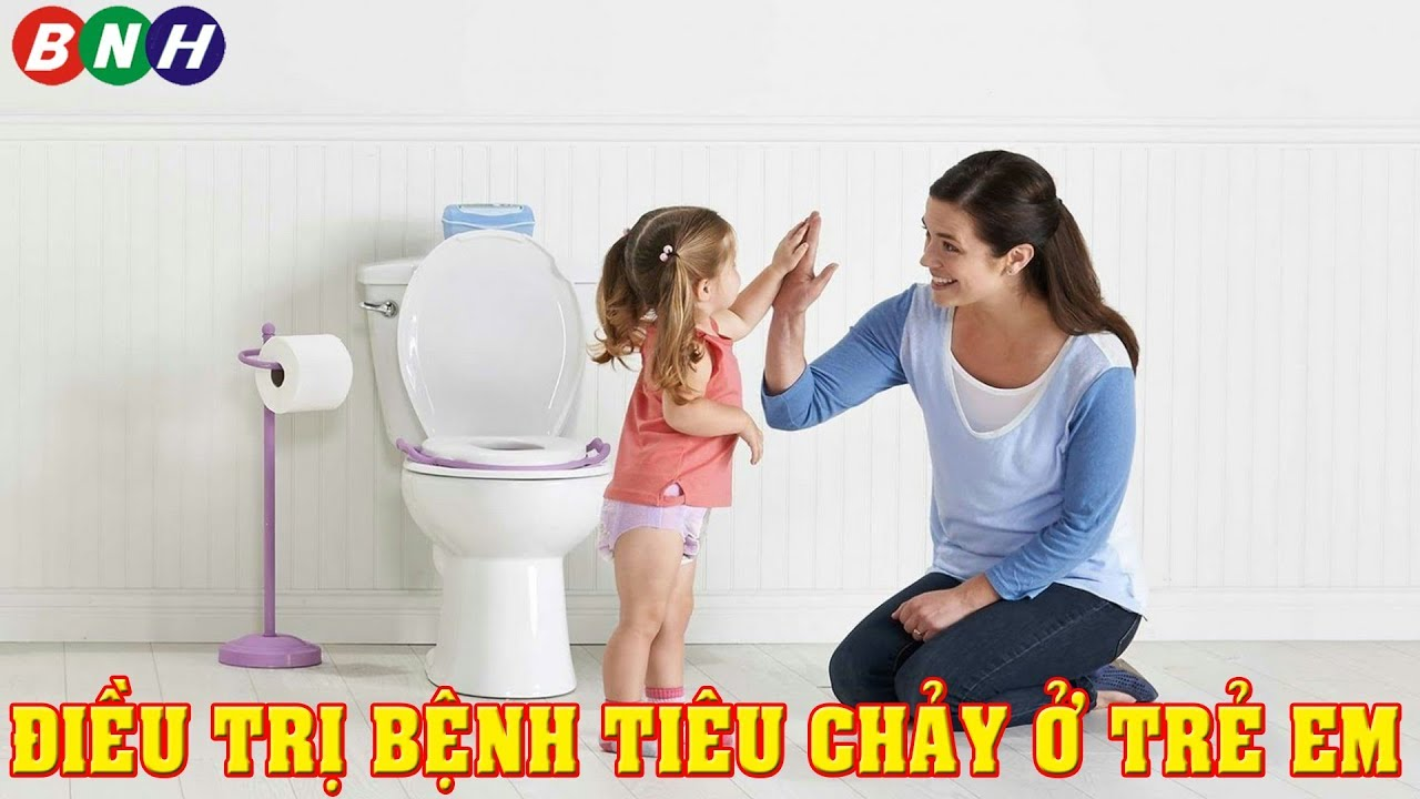 điều trị bệnh tiêu chảy ở trẻ nhỏ