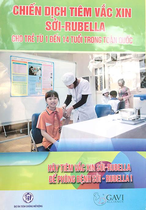 Tiêm chủng sởi -rubella để phòng bệnh