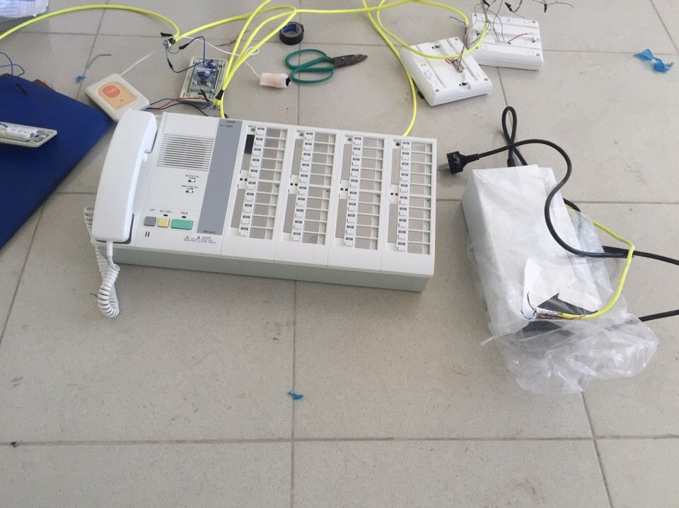 hệ thống chuông gọi y tá có dây